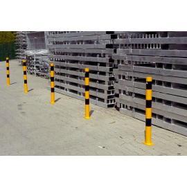 Steel bollard -Standard- for bolting down (Ø60-102mm)