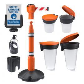 Skipper Safety & Hygiene Station - Complete Kit